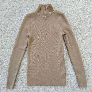 🌵Lauren Ralph Lauren Tan Turtleneck Sweater PS